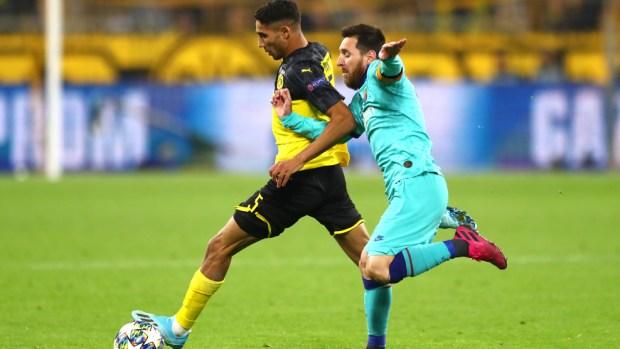 دوري أبطال أوروبا.. أشرف حكيمي يتألق أمام برشلونة (فيديو)