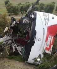 مصرع 8 أشخاص وإصابة 42 آخرين.. حادثة سير خطيرة في إقليم تازة