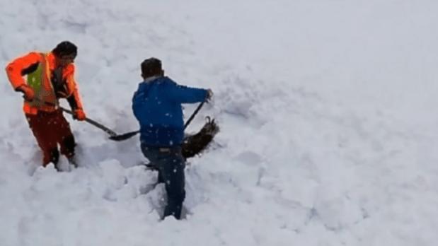 بعد أيام من اختفائه.. العثور على جثة ستيني وسط الثلوج في جبال أزيلال
