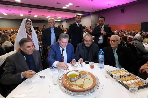بالصور من تزنيت.. أخنوش يحتفل برأس السنة الأمازيغية ويدعو إلى إقراره عيدا وطنيا