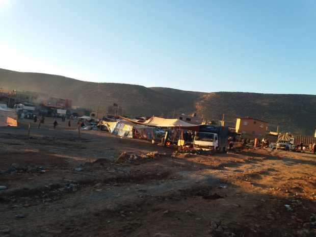 تيفرت ن آيت حمزة.. قرية في دكان (صور)