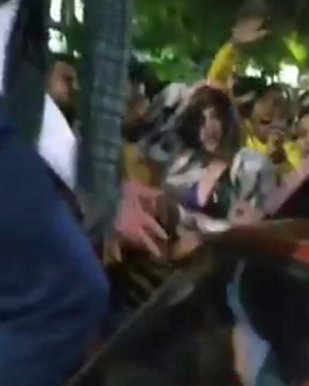التحرش الجماعي بفتاة مغربية.. الأمن المصري يحدد 11 شخصا ممن ظهروا في الفيديو
