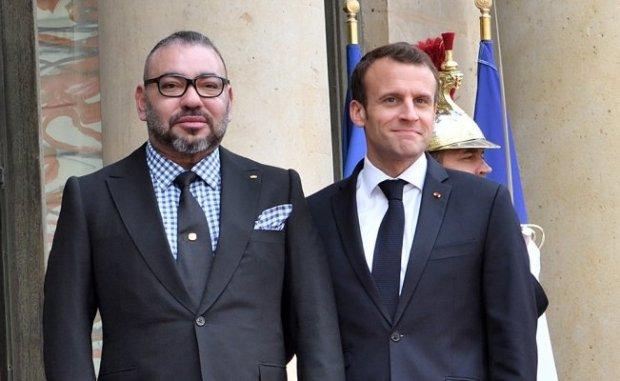 بشأن الأزمة الليبية.. تفاصيل اتصال هاتفي بين الملك محمد السادس والرئيس الفرنسي