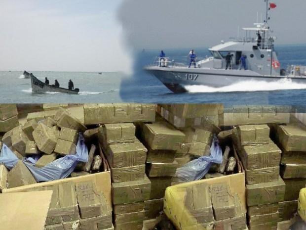 مطاردة وإطلاق نار ومقتل مهرب.. تفاصيل إحباط البحرية الملكية لعمليتين كبيرتين لتهريب المخدرات