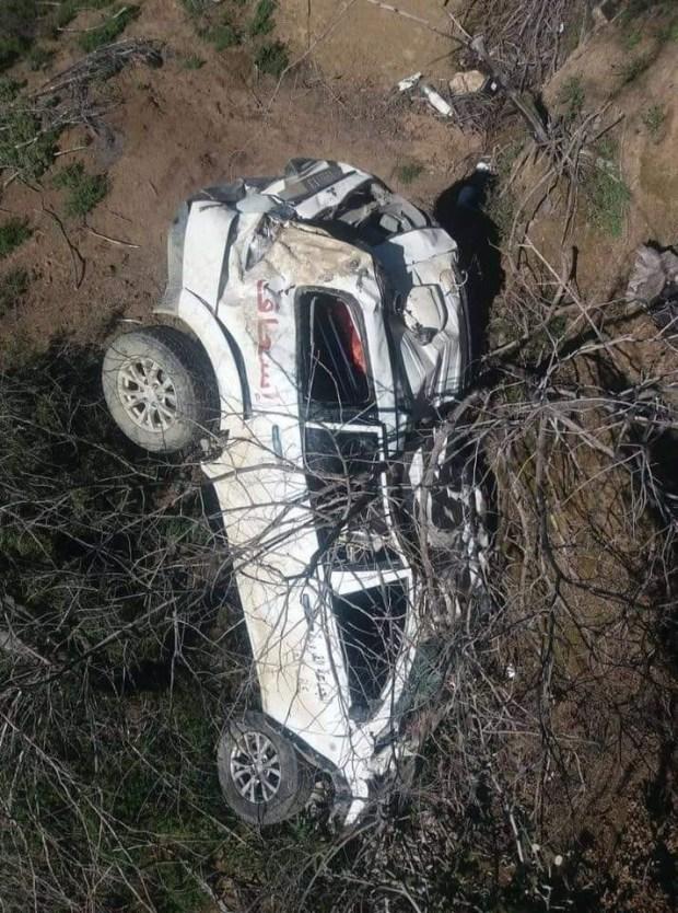 ماتت المريضة والممرضة والشيفور.. انقلاب سيارة إسعاف في بيوكرى