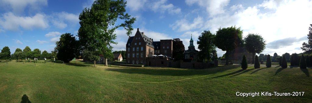 Rund um Schloss Diersfordt in Wesel