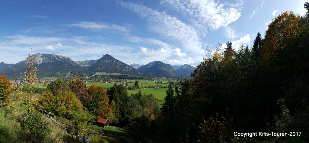 Über die Söllereck-Talstation zum Berggasthof Bergkristall
