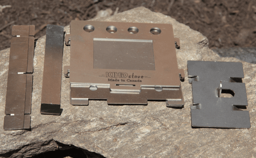 stainless steel camping stove