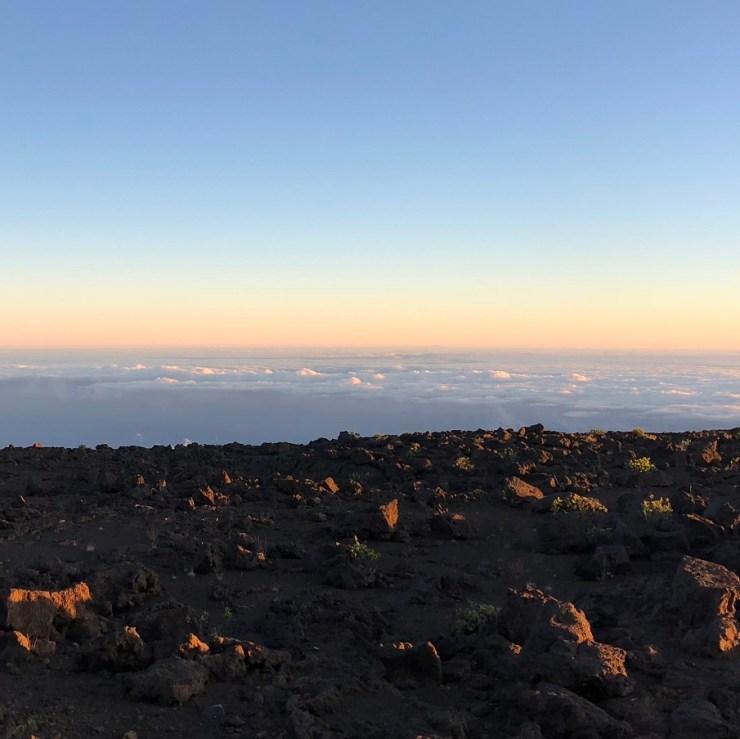 Sunrise Tours on Haleakala Volcano, Maui Hawaii. High ABOVE the Clouds...