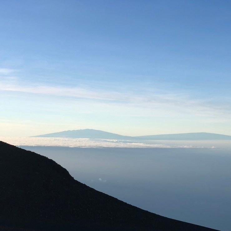 Haleakala Maui Hawaii Sunrise view Big Island Hawaii Volcanoes