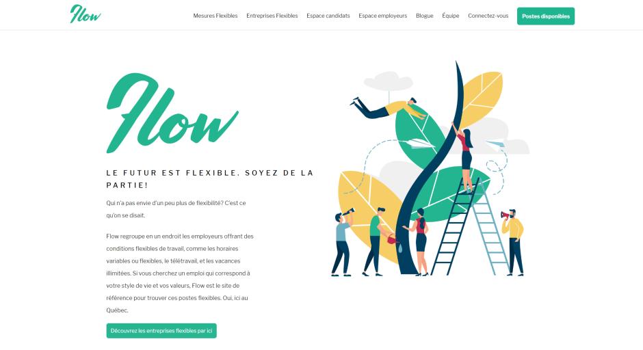 Flow Screen capture