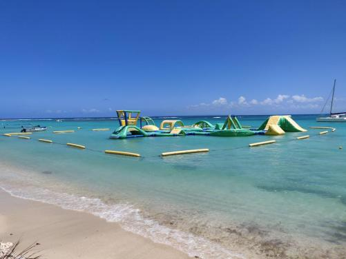 sainte anne water obstacle course