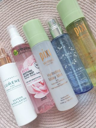 Cold weather skincare mists