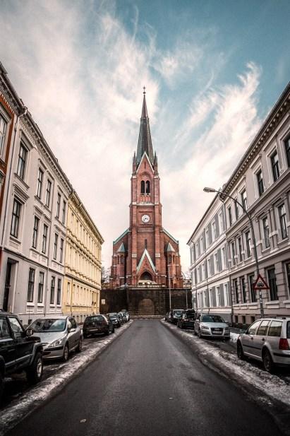 Uranienborg kirke, Frogner, Oslo, Norway by Balthazar Lange