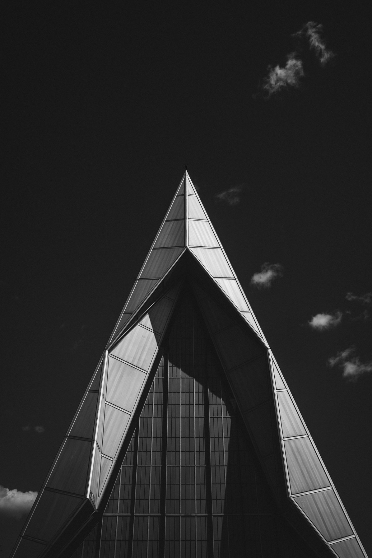 United States Air Force Academy Cadet Chapel by Walter Netsch