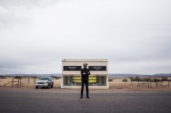 The Dawg at Prada Marfa