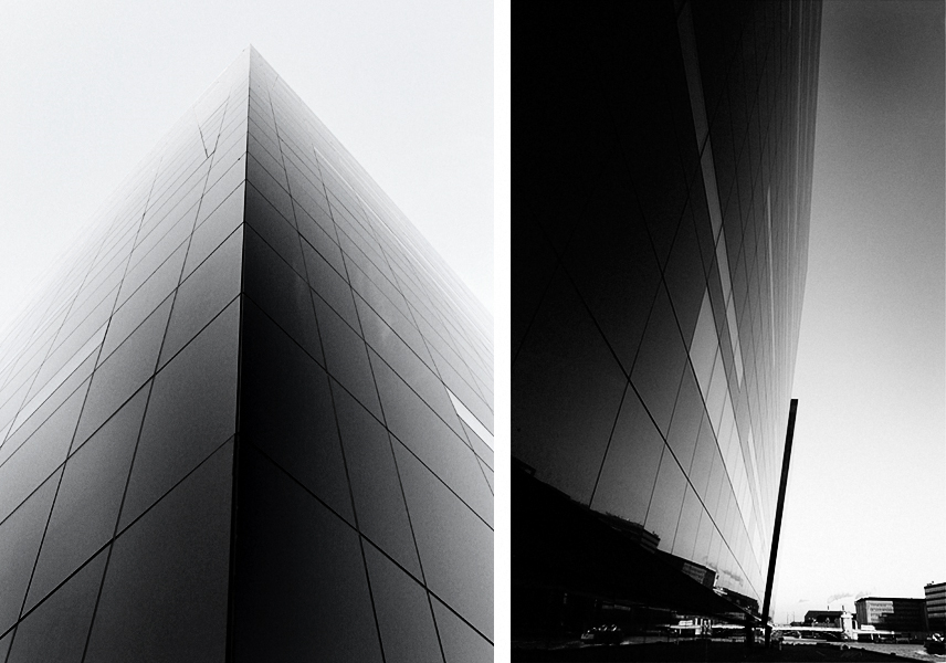 The Black Diamond, Copenhagen, Denmark by schmidt hammer lassen architects
