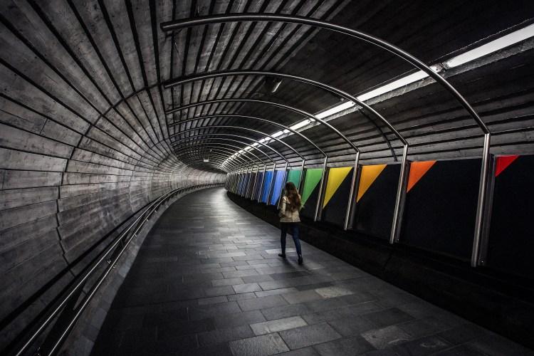 National Theatre Railwaystation, Oslo Norway. Architect: Arne Eggen Arkitekter AS