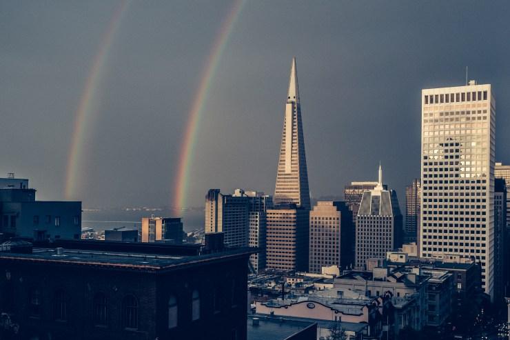 San Francisco Double Rainbow™