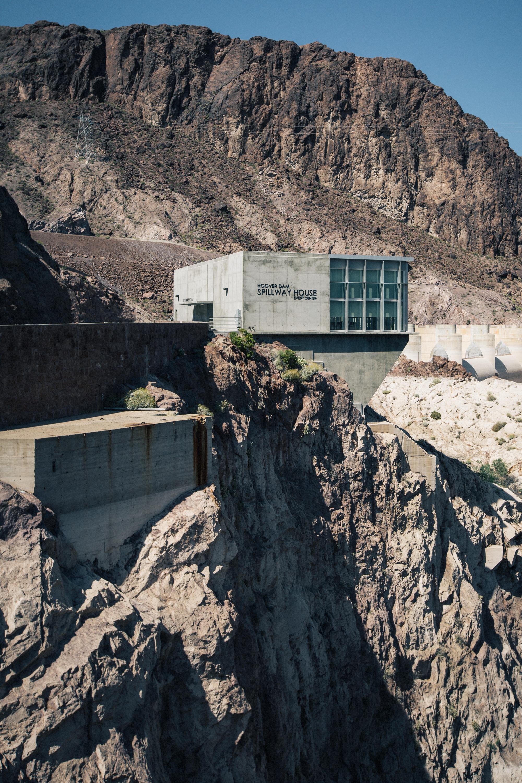Hoover Dam Spillway House