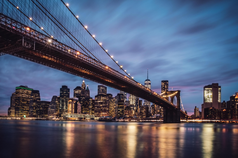 Down Under the Manhattan Bridge Overpass