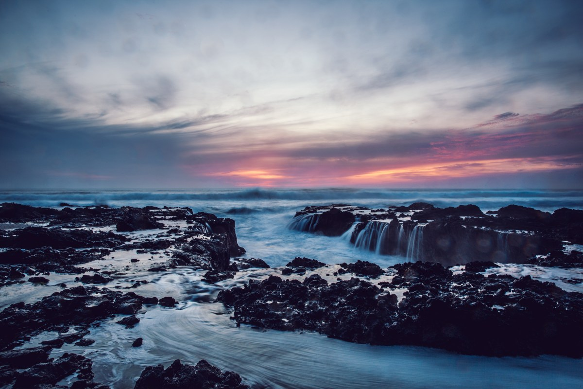 Thor's Well, Yachats, OR