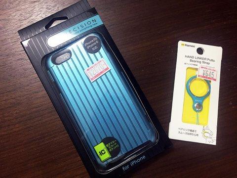 PRECISION Hybrid Case iPhone 6ケースとHandLinker Putto ベアリング携帯ストラップ