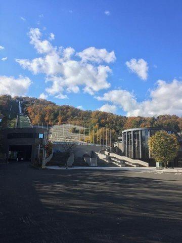 大倉山展望台入り口