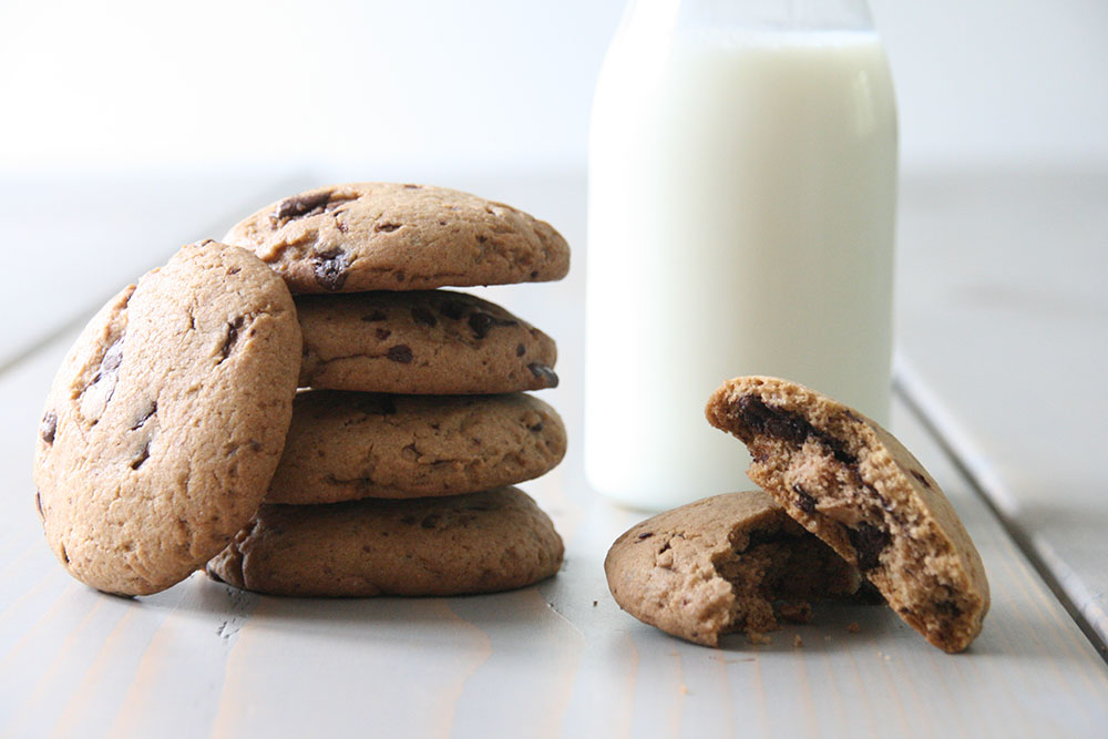 Sprøde Nutella cookies
