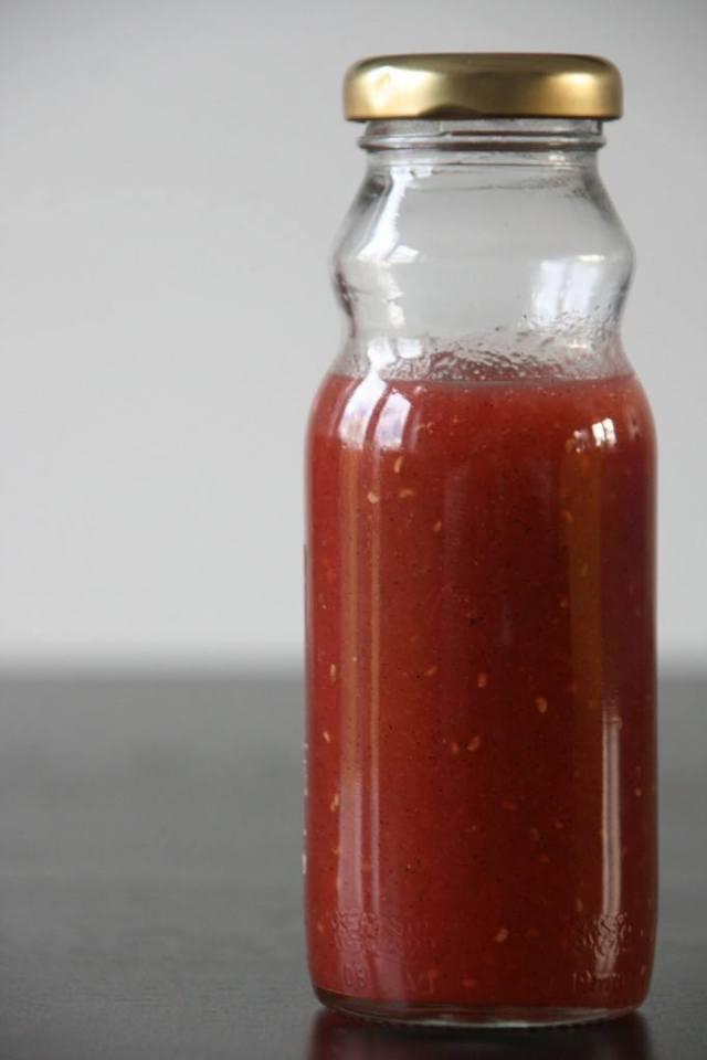 Opskrift på rabarber og hindbær kompot