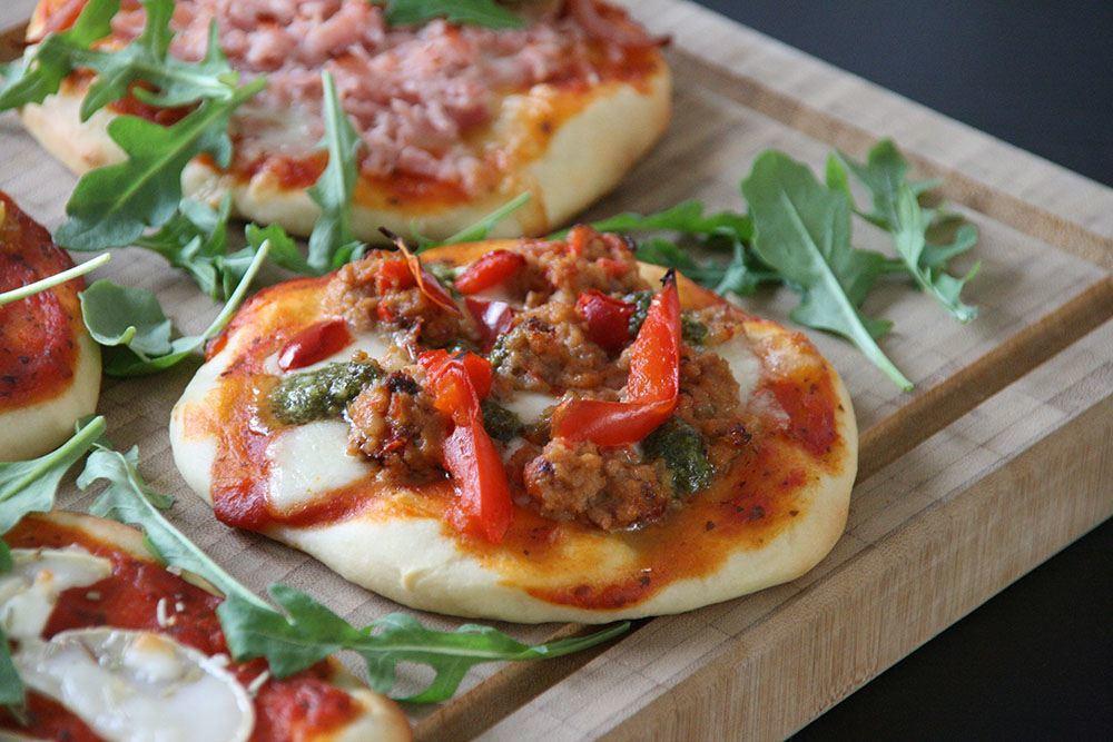 Opskrift på mini pizza