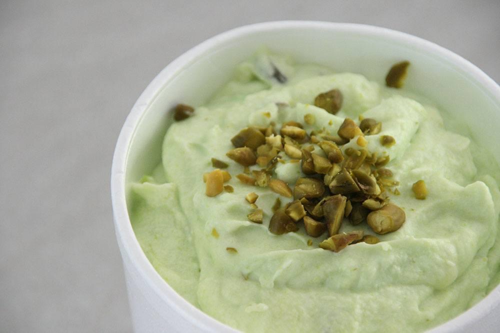 Hjemmelavet pistacie is uden ismaskine
