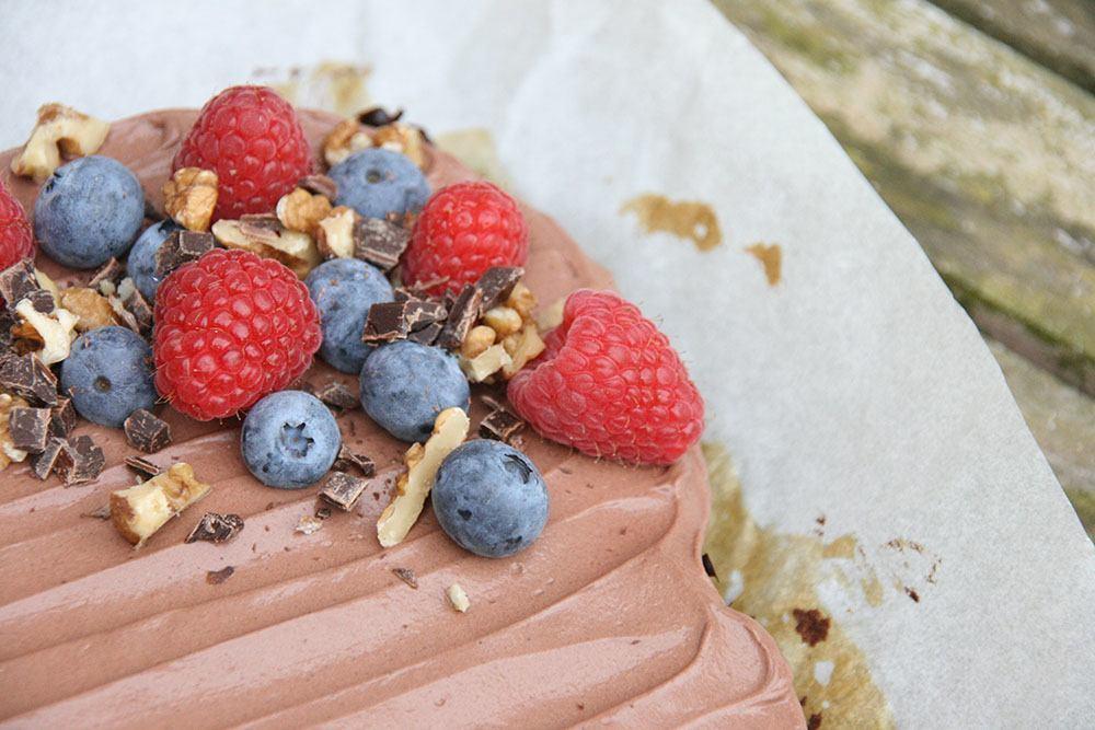 opskrift på sund luksus brownie