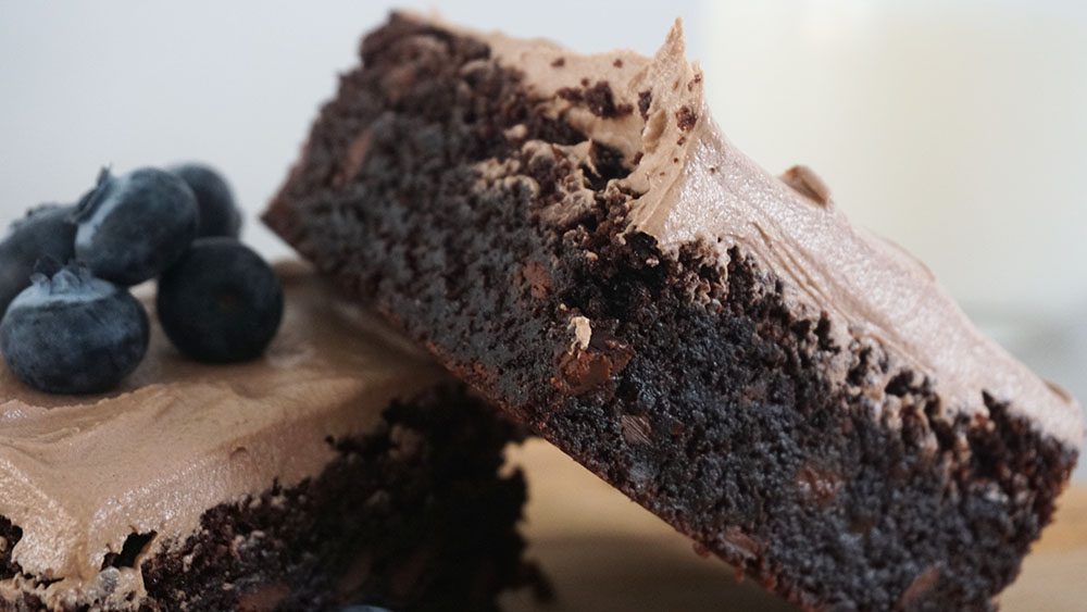 fudgy Nutella brownie