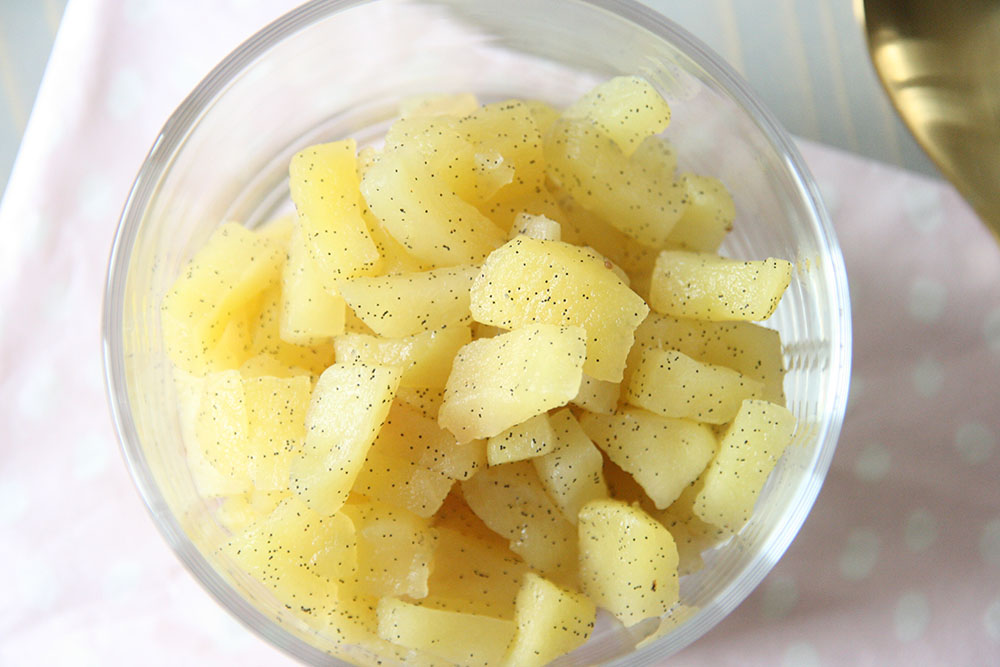 Opskrift på æble topping