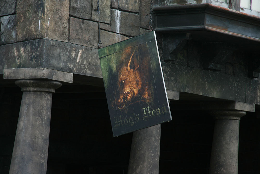 Three Broomsticks - Universal's islands of adventure