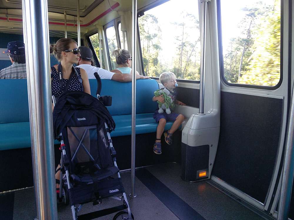 Monorail - Disney World