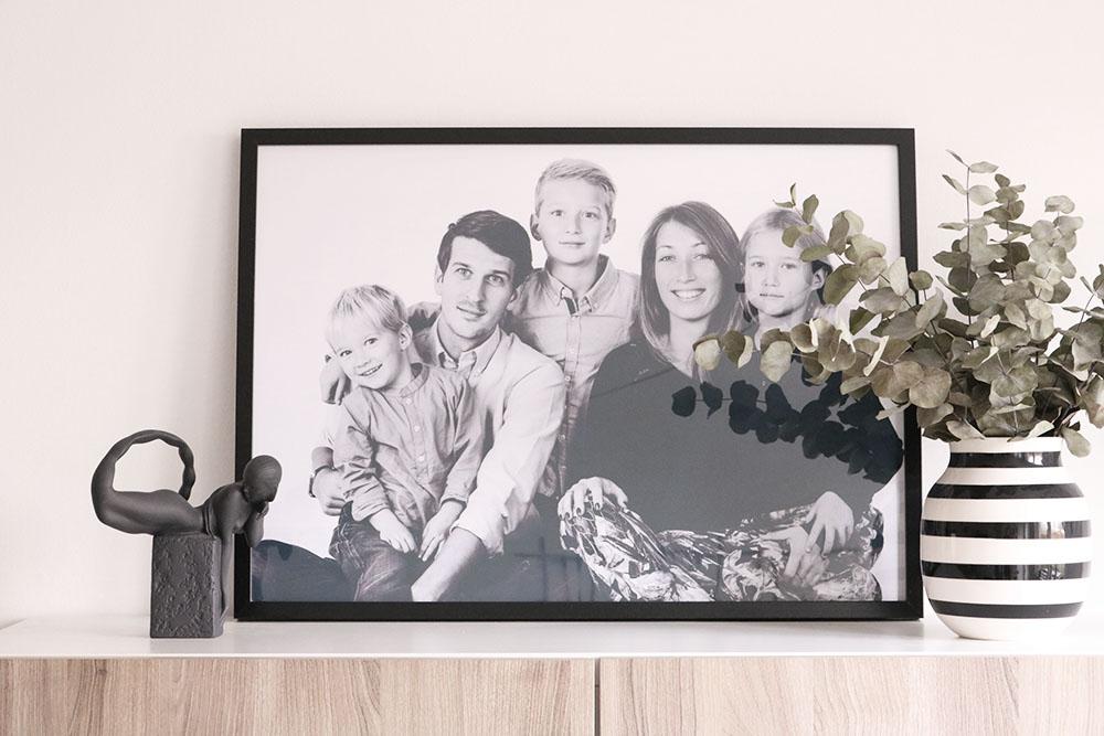 Boligspam og familieportæt