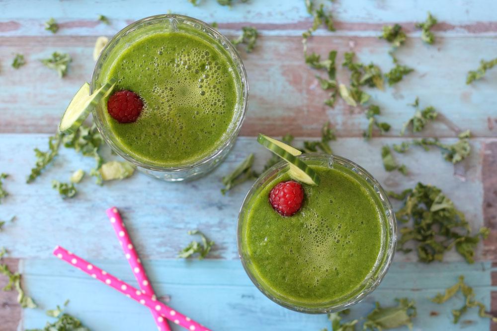 Opskrift på lækker og frisk grøn smoothie