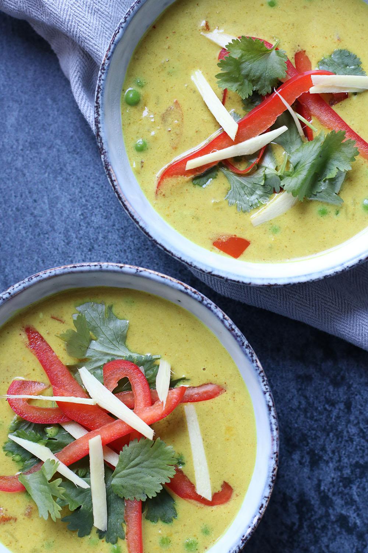 Opskrift på spicy orientalsk suppe