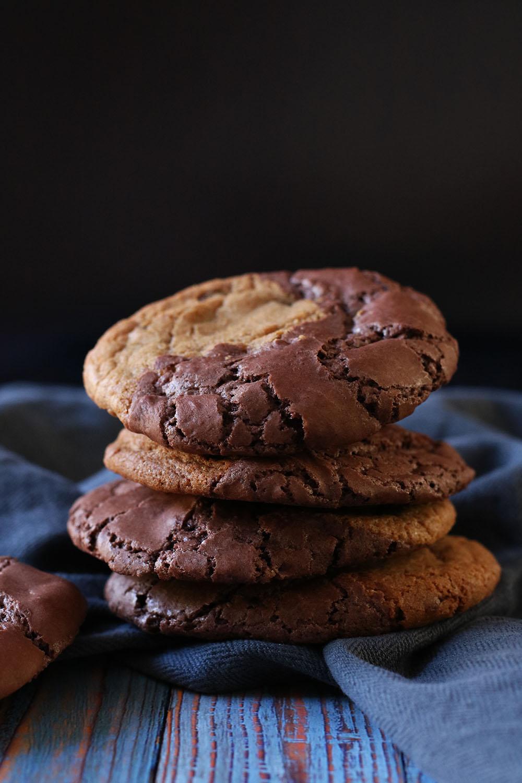 Opskrift på de bedste Brownie Cookies