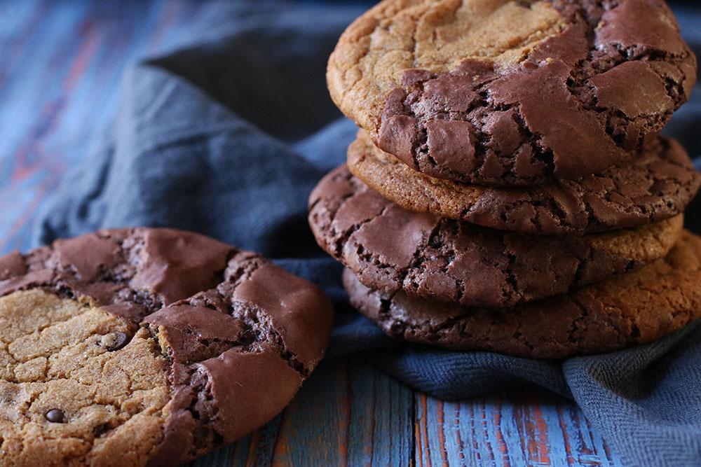 verdens bedste brownie cookies