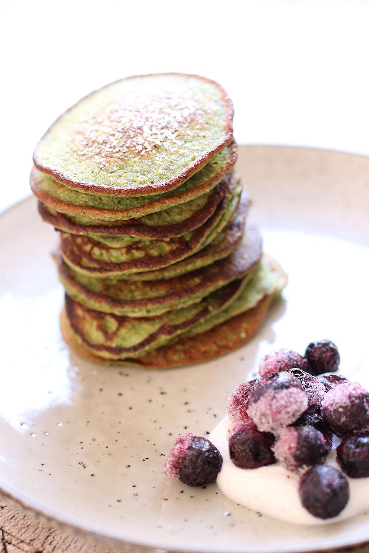 Bedste opskrift på grønne banan pandekager