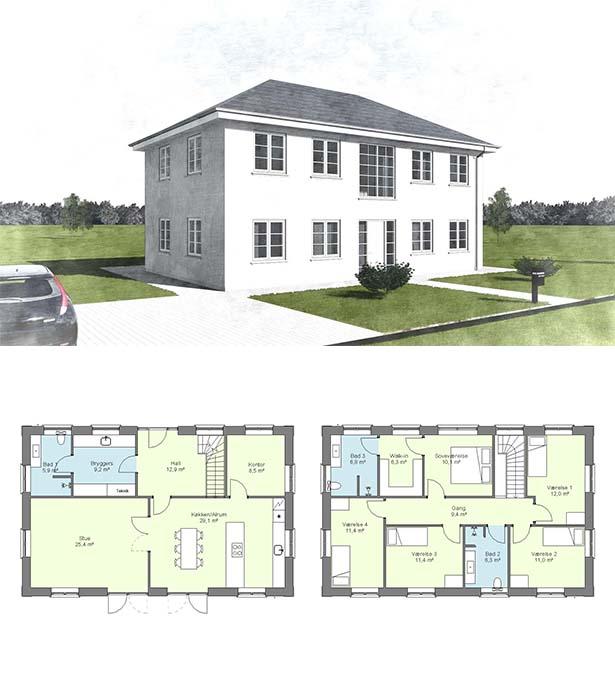 2-plans hus