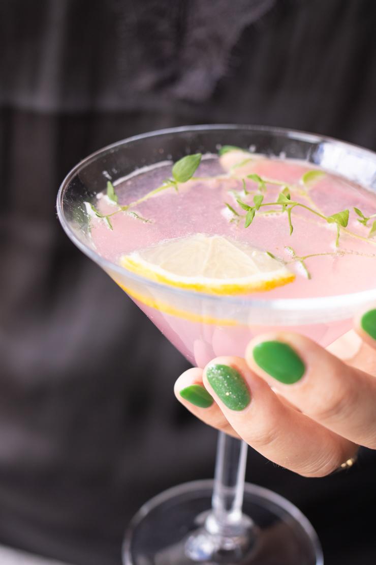 Rosa lemon martini
