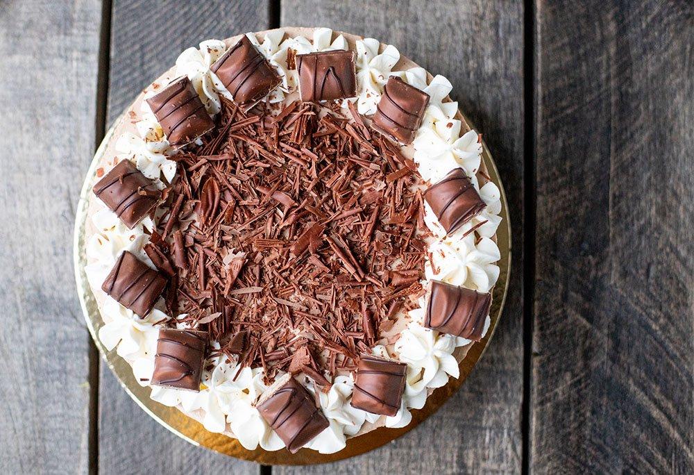 Lækker opskrift på Kinder Bueno Cheesecake