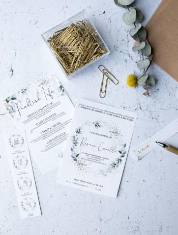 hjemmelavet bryllups invitationer
