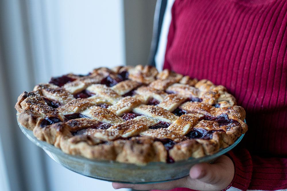 Opskrift på lækker cherry pie
