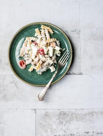 Lækker og nem pastasalat