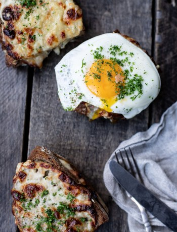 Croque Monsieurs & croque madame